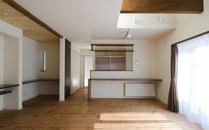 中古住宅+リノベーション事例 札幌市北区K様邸