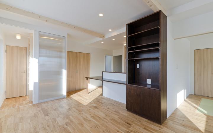 中古住宅+リノベーション事例 札幌市北区M様邸