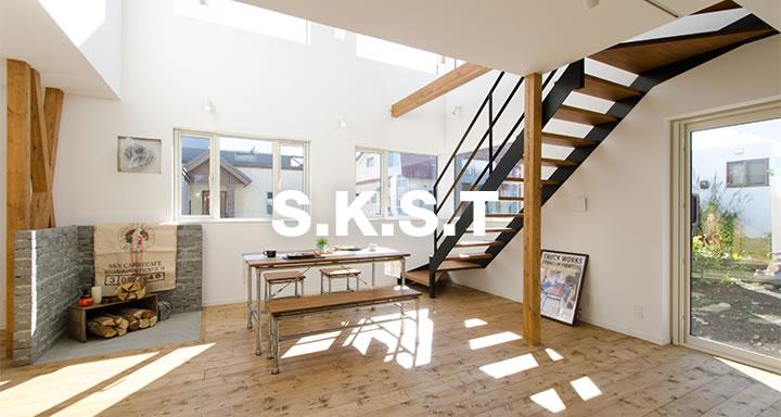 札幌市 土地+注文住宅事例 S.K.S.T