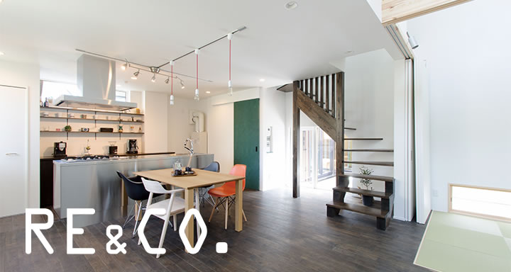 札幌市 中古住宅+リノベーション事例 RE&CO.