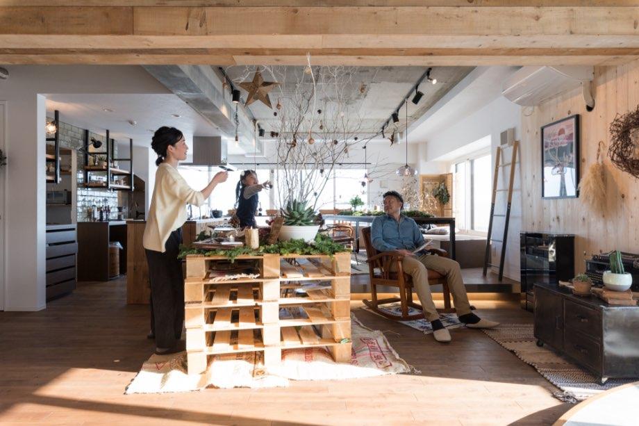 札幌市 中古マンション+リノベーション事例写真 その02 Tesoro